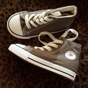 Grey Toddler Converse